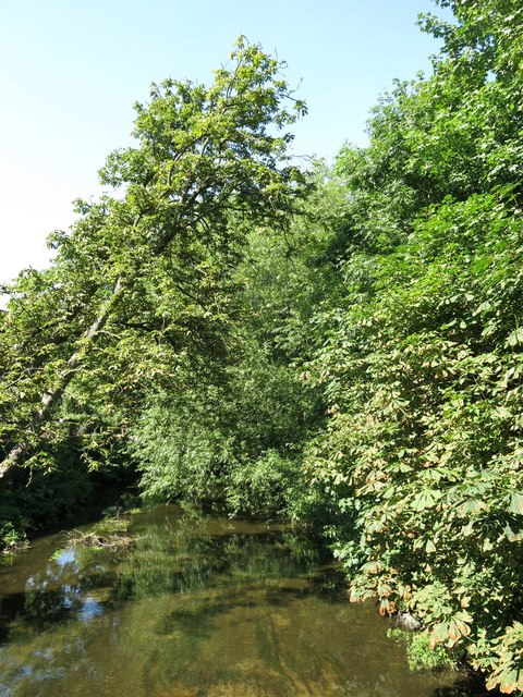 Fray's River north of Thorney Mill Lane
