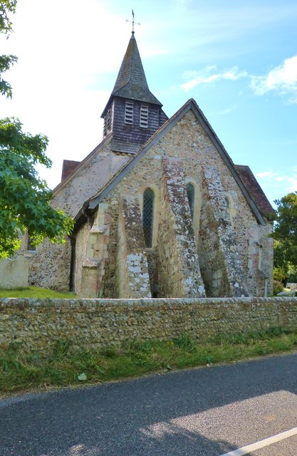 The Eastern end of St. Peter's church, North Hayling