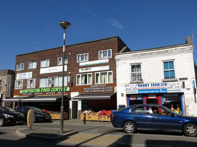 Parade of shops in Station Road