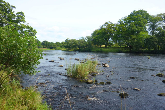 River Tyne at Chesters Fort
