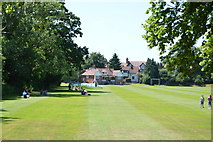 SP5105 : Brasenose College Sportsground by N Chadwick