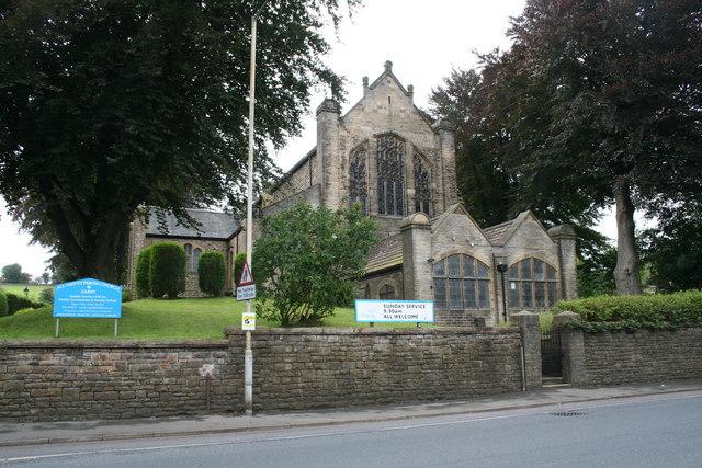 Earby:  All Saints Parish Church