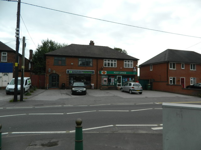 Pharmacy and Post Office, Blythe Bridge