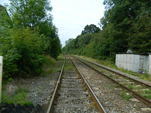 Railway lines, Blythe Bridge