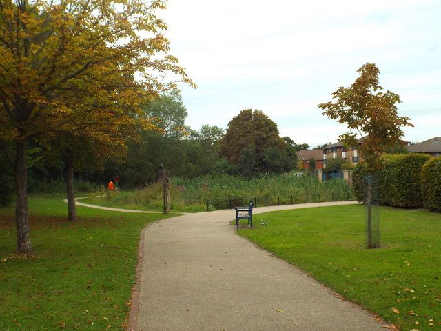 Forest Lane Park, near Forest Gate