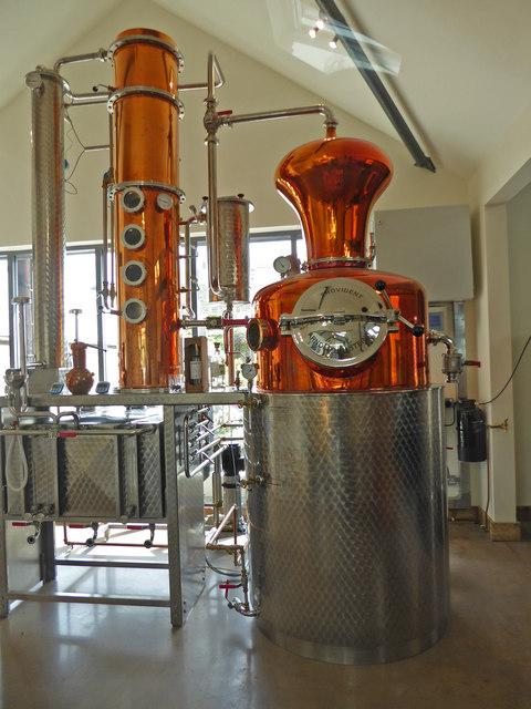 Salcombe Gin Distillery
