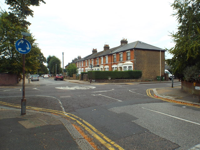Hampton Road, near Forest Gate