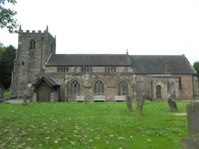 St Peter's Church, Caverswall