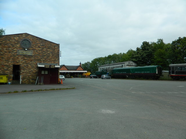 Caverswall Rd Station, Foxfield Railway, Blythe Bridge
