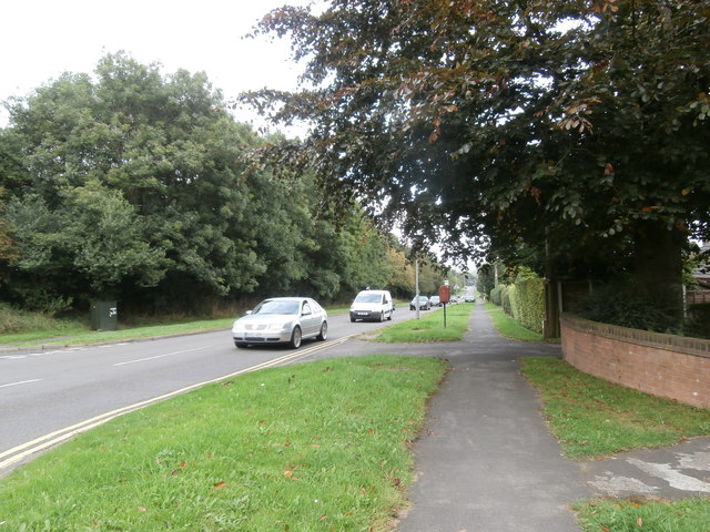 The B5029 near its junction with Grange Rd