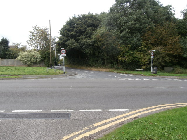Junction of the B5029 and Grange Rd
