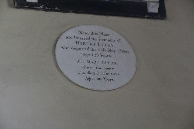 Lucas Memorial