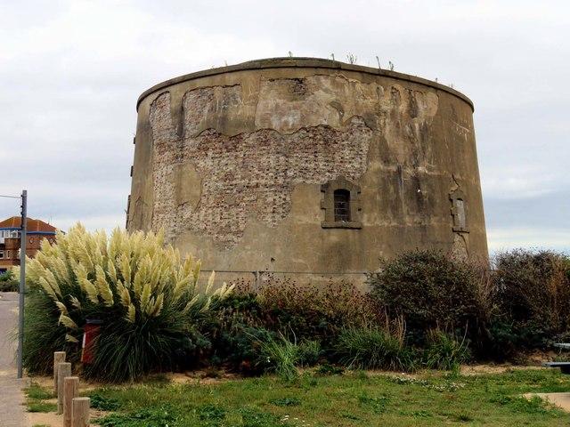 Martello Tower E in Clacton