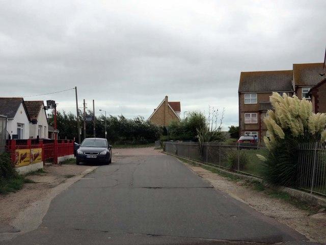 Belsize Avenue in Jaywick