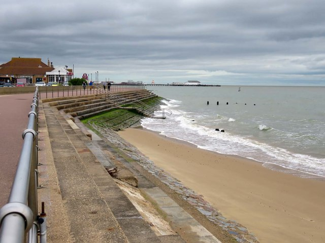 Martello Beach in Clacton