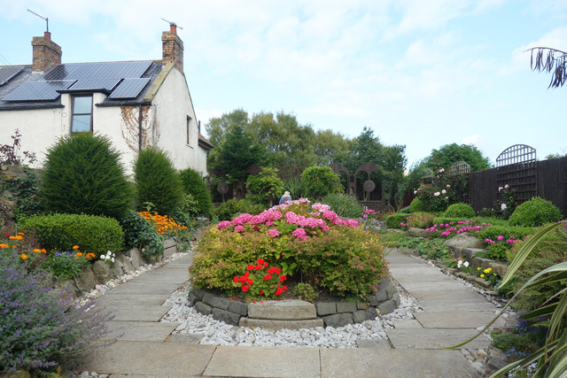 The Lindisfarne Gospel Garden