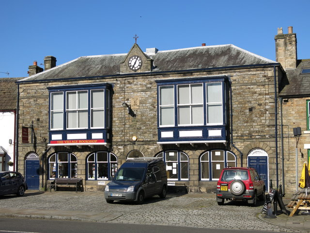 The former Town Hall, Market Place
