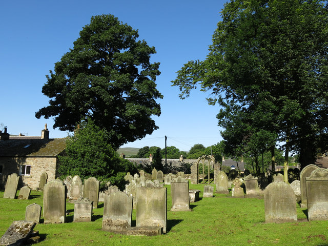 The Church of St. Mary, Town End - graveyard