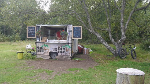 The Crepe Shack, Tentsmuir