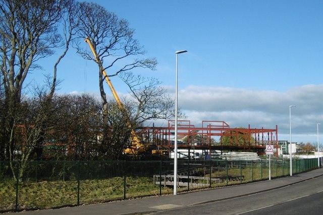 Law Primary School under construction