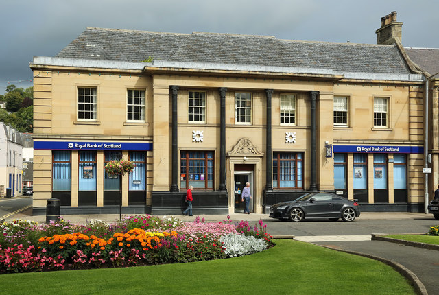 The Royal Bank of Scotland Branch in Galashiels