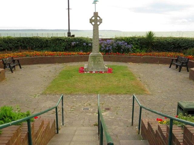 The war memorial in Lee-on-Solent