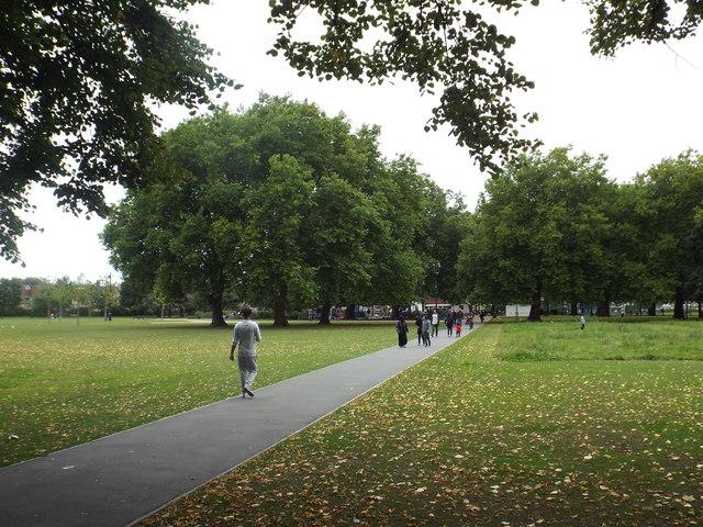 Plashet Park, near East Ham