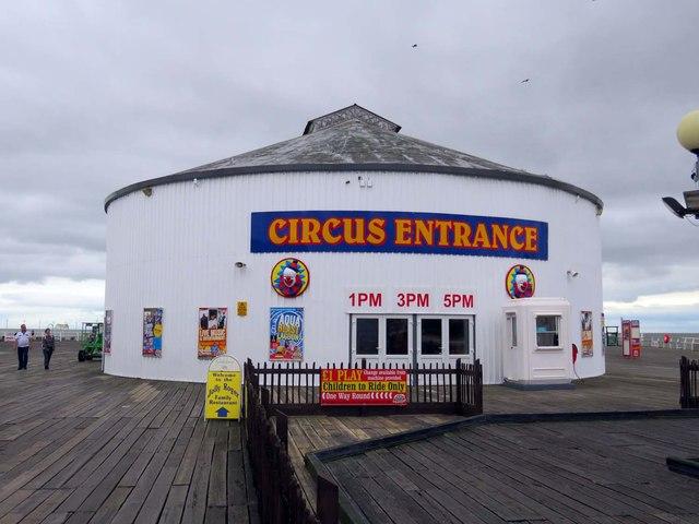 Circus on Clacton Pier