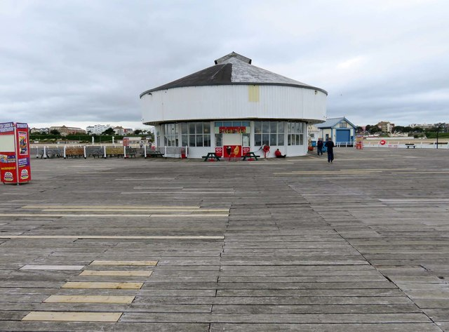 Cafe on Clacton Pier