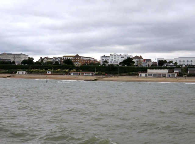 The beach at Clacton