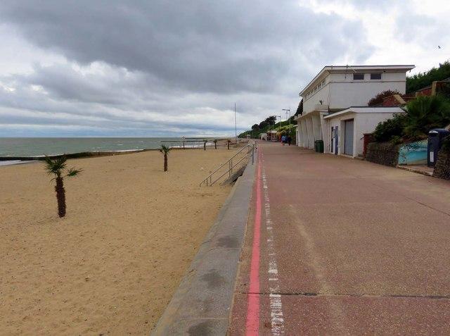 The promenade in Clacton