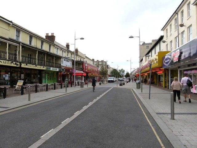 Pier Avenue in Clacton