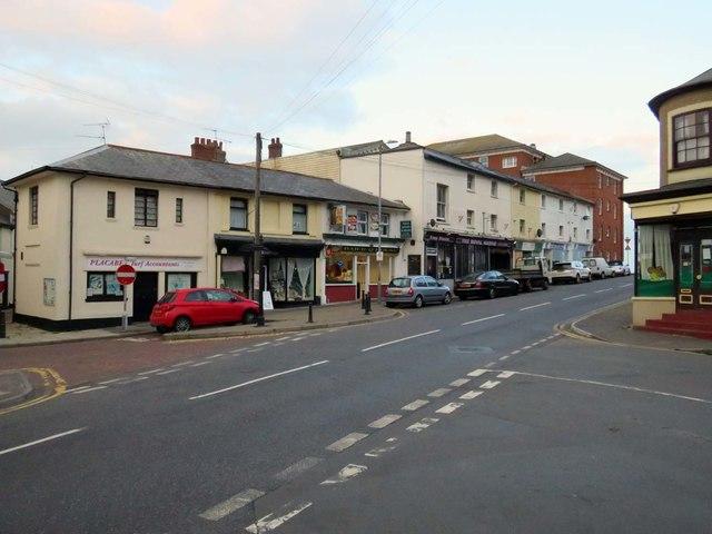 Old Pier Street in Walton-on-the-Naze