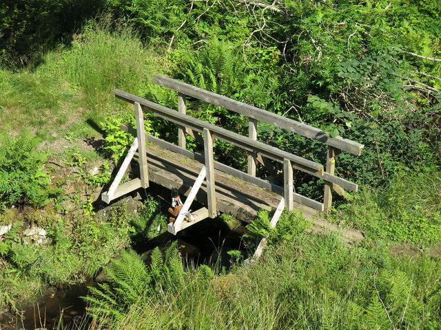 Footbridge over Snaisgill Sike