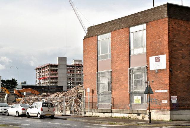 Former social security office, Belfast - September 2017(2)