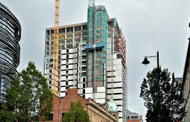 Windsor House redevelopment, Belfast - September 2017(1)