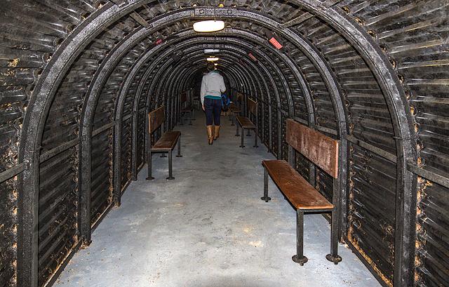 Talbot Heath School for Girls, Bournemouth - WWII Air Raid Shelter (4)