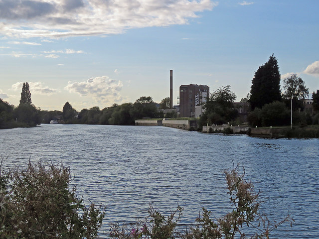 Towards Trent Basin on a September evening