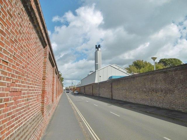 Gosport, chimney