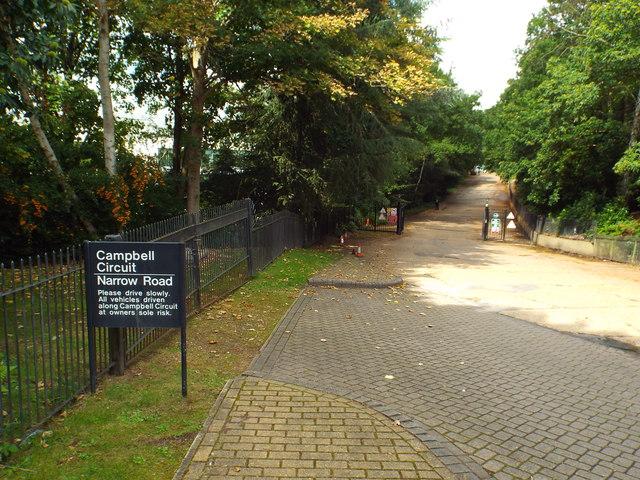 Campbell Circuit, Brooklands