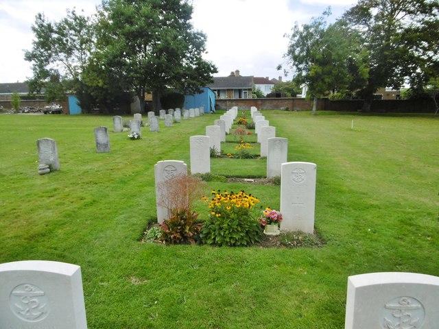 Alverstoke, war graves