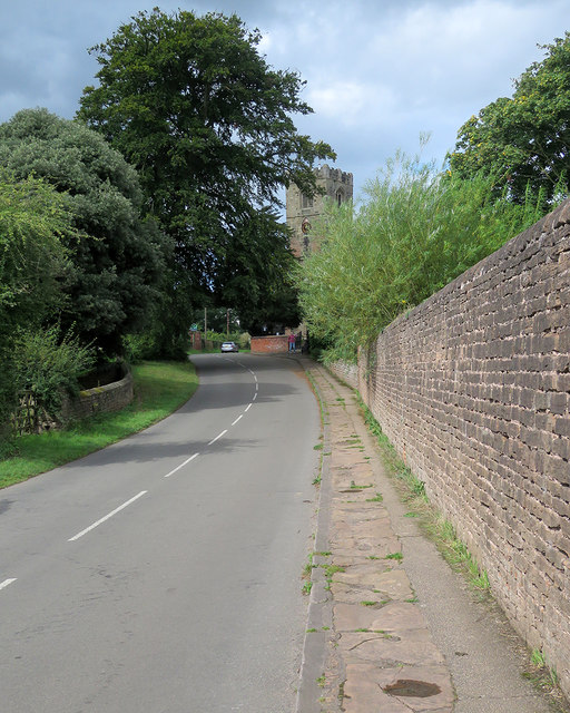 Strelley Church and the Stones of Monks Way