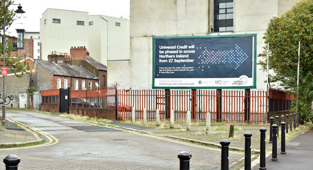 Development site, 14 College Square North, Belfast (September 2017)