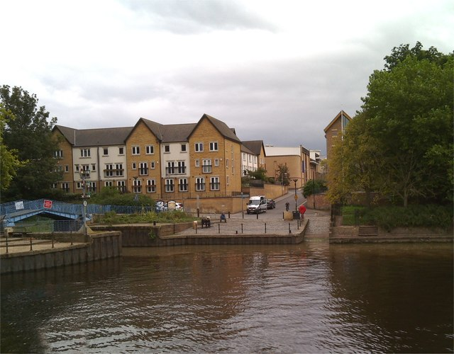 Confluence of Foss and Ouse