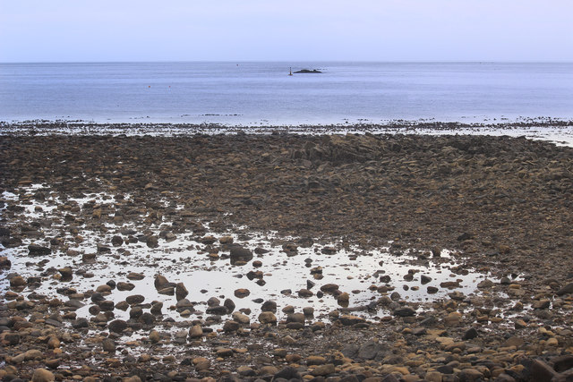 Low Tide at Castle Point