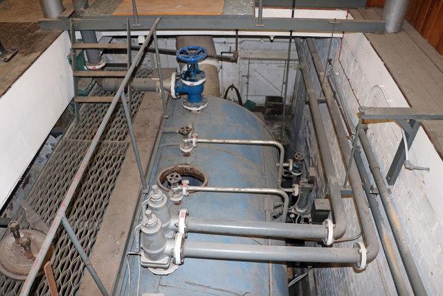 Calderdale Industrial Museum - boiler