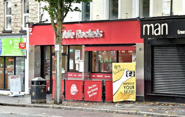 """""""Eddie Rockets"""", Belfast (September 2017)"""