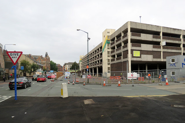 Canal Street and Broad Marsh Car Park