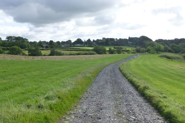 The track to Kirkwhelpington