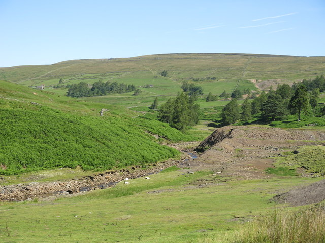 The valley of Hudeshope Beck (2)